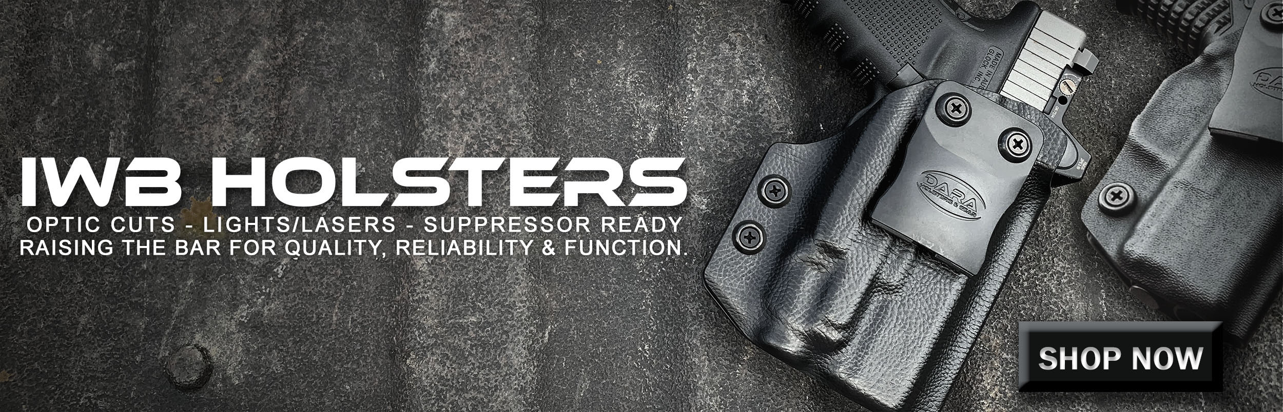 The Best Gun Holsters for Concealed Carry & Competitive Shooting