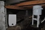 Meaco DD8L Junior Dehumidifier - in a cellar
