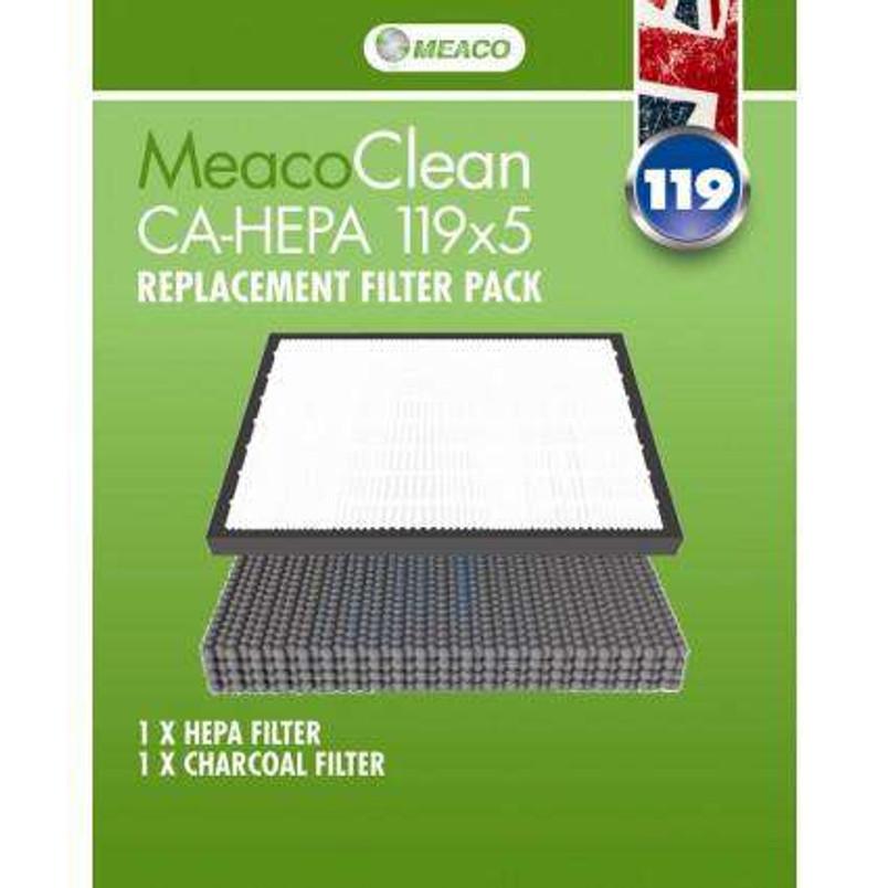 MeacoClean CA-HEPA 119x5 Filter Pack