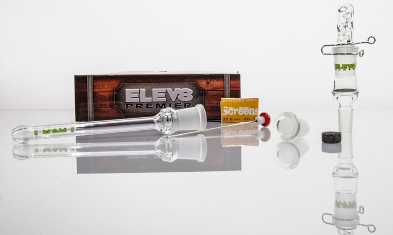 ELEV8R Glass Portable Vaporizer (Perfect Banger Replacement)