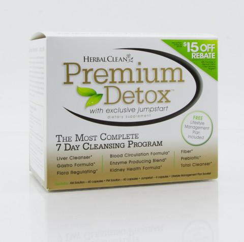 Herbal Clean QCarbo20 Clear Same-Day Detox Drink - 20 oz