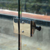 Magnetic Latch Lock for Glass Pool Gate (180° glass to glass)