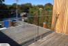 Grand Glass - Frameless glass balustrade and flat rail