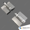 Spring Hinge for Glass Pool Gate (one pair, 180° glass to glass) - Polished