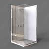 Rectangle Hinge Shower Unit
