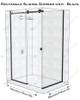 Frameless Glass Shower Box