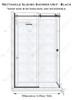 Door Side-Frameless Glass Shower Box