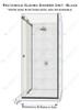 Return Side-Frameless Glass Shower Box