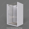 glass sliding shower