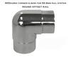 Corner Elbow for 50.8mm Round Rail System