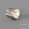 End Cap for 38.1mm Diam Round offset Rail
