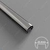 25.4mm Diam Slotted Round Tube (316 S/S Mirror)