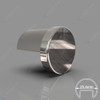 End Cap for 25.4mm Diam Round Top Capping Rail