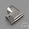 Corner Elbow for 50.8mm Round Top Capping Rail