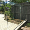 Farmless glass for pool fencing