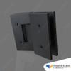 135° Shower Hinge for Angle Hinge Shower - Black