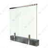 Glass Balustrade. side fxing glass balustrade, side fixing mini post