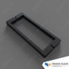 Square Handle for Hinge Shower & Angle Shower - Black