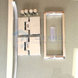 glass shower hardware package