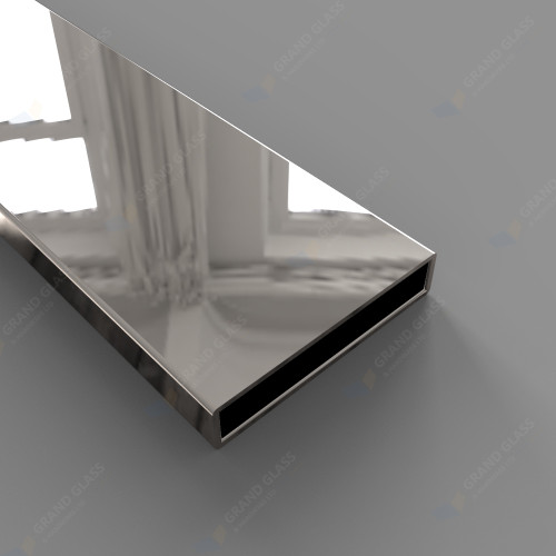 50*10mm Rectangle Tube (316 S/S Mirror)