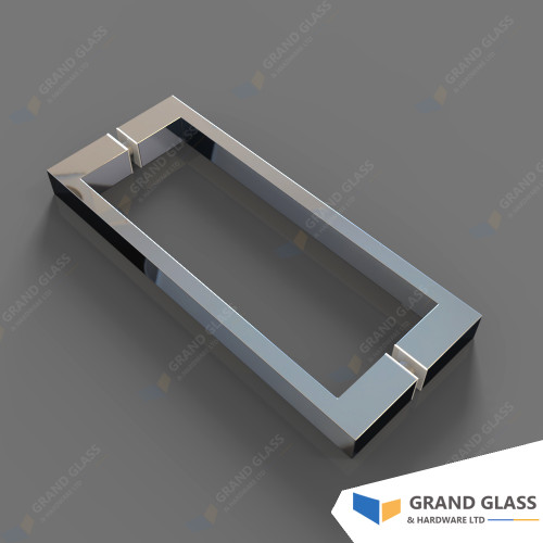 Square Handle for Hinge Shower & Angle Shower - Chrome