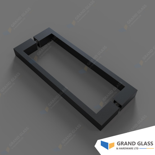 Square Handle for Hinge Shower & Angle Shower - Black