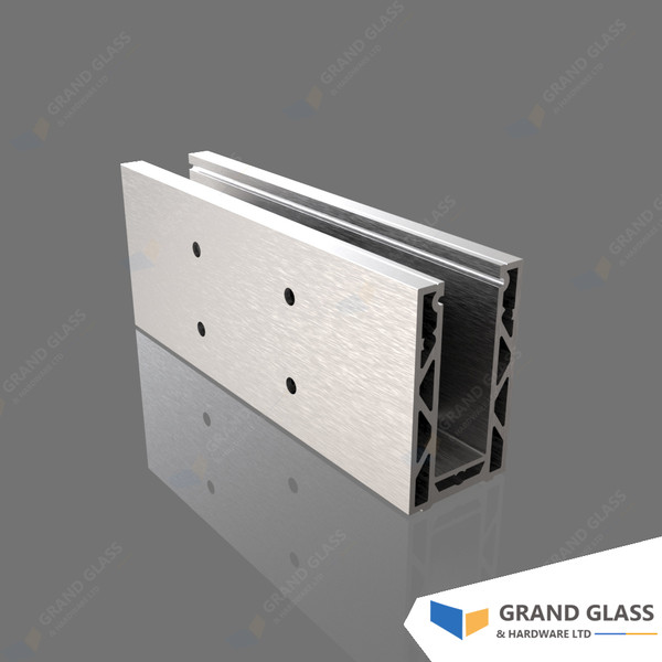 Channel Balustrade System - Top fixing channel block
