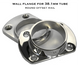 Wall Flange for 38.1mm Round Rail System