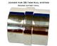 Joiner for 38.1mm Round Offset Rail System