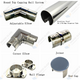 End Cap for 50.8mm Diam Round Top Capping Rail