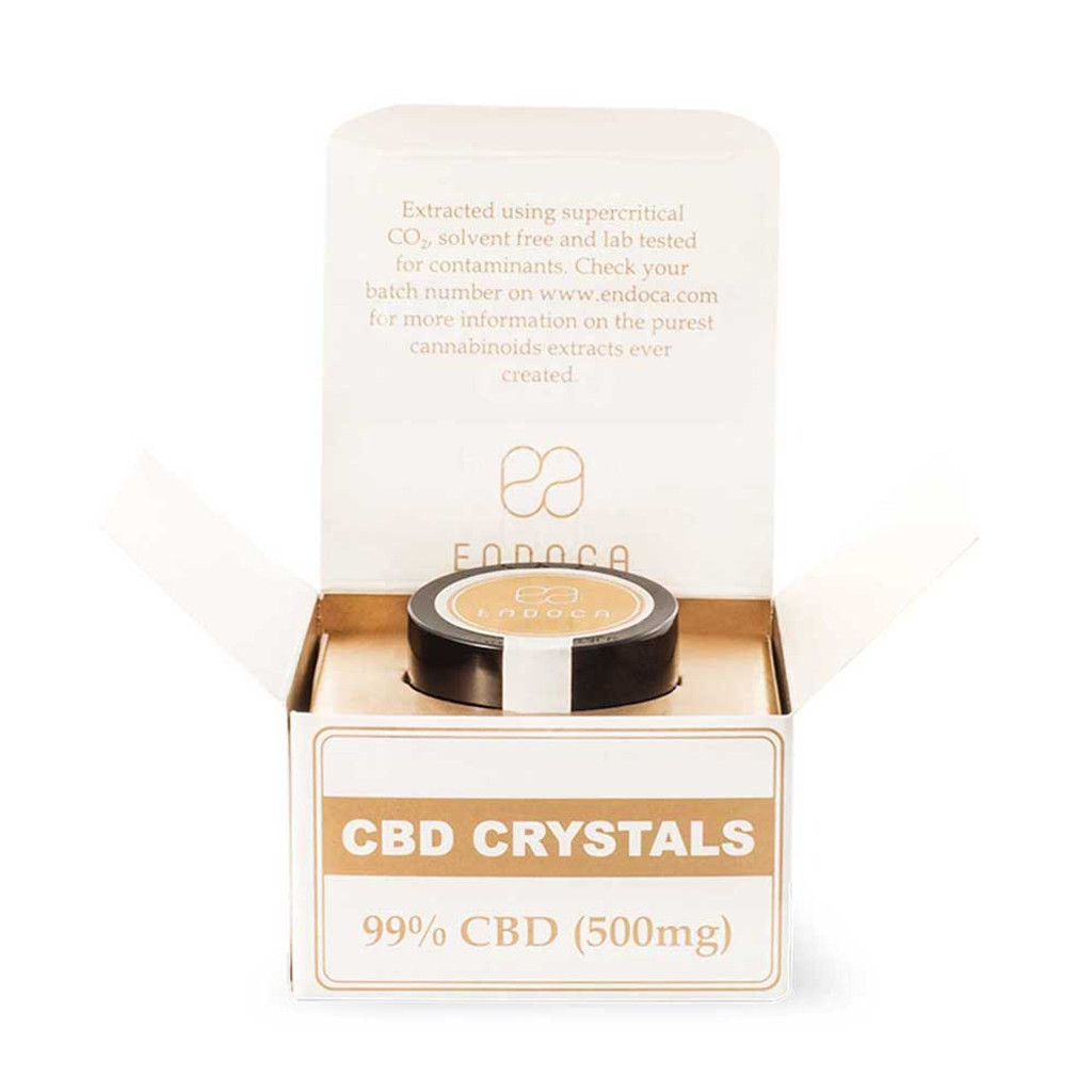 Endoca Hemp Cannabis Crystals 98% CBD
