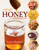 The Fresh Honey Cookbook front cover shows a honey dipper dripping honey into a glass jar