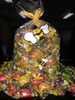 Large Honeybee Gift Bag shown with honey candy.
