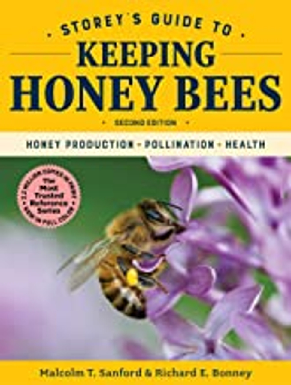 Storey's Guide to Keeping Honey Bees front cover of book