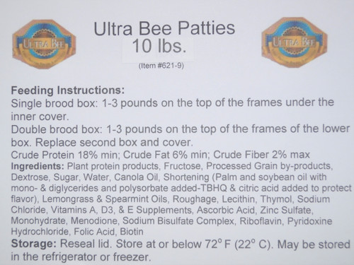 Ultra Bee Label