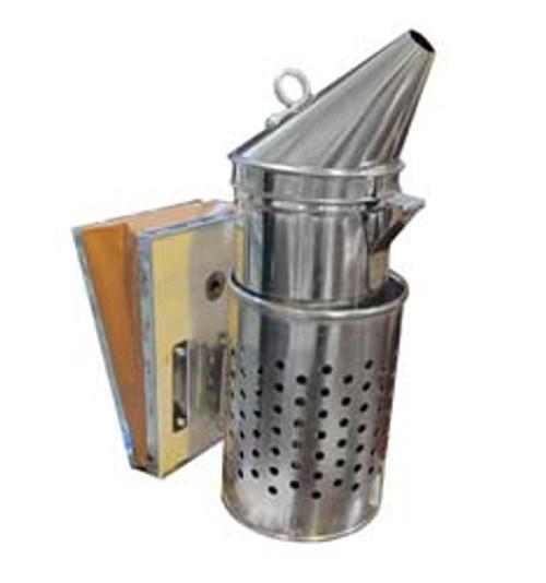 4x10 Smoker with protective shield