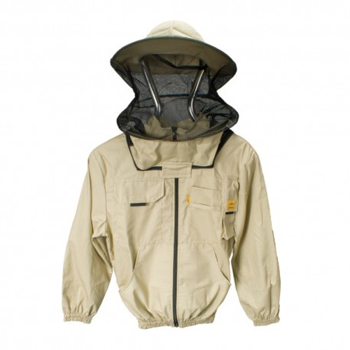 """alt=""""Lyson beekeeping jacket with hat veil combo"""""""
