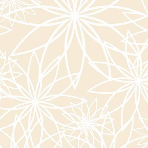 Wide Backing - Deco Floral
