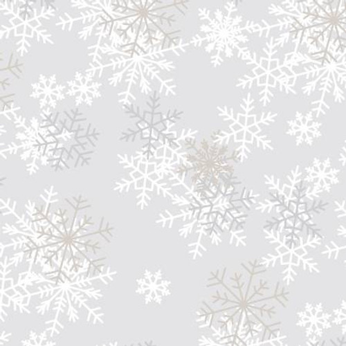 Wide Backing - Snowflake