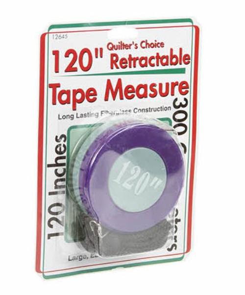 Retractable Tape Measure 120in