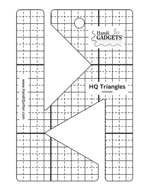 HQ Triangles Longarm Ruler