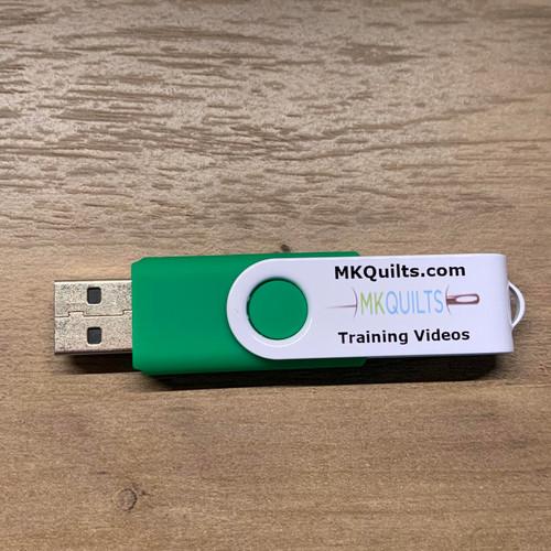 MK Quilts Logo USB Stick - 32 Gs