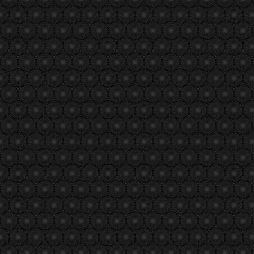 Simply Neutral 2 Grey Black Hexagon Geo