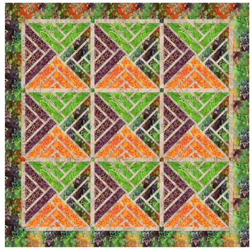 Fractured Paint Box - Quilt Kit
