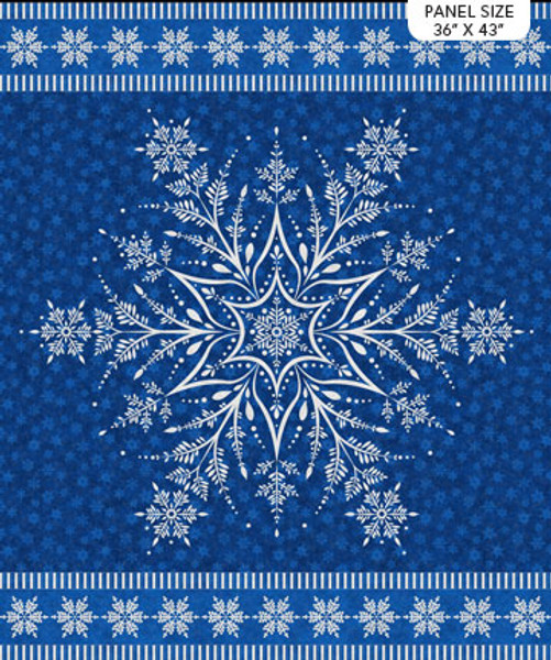 Shimmer Frost Snowflake Panel