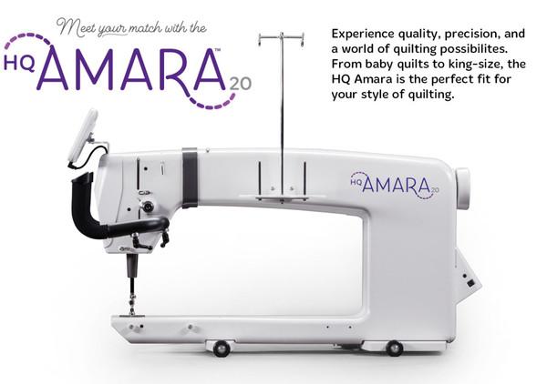 HQ Amara 20 Longarm Machine Package