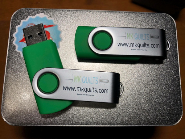 Videos Shipped on USB stick
