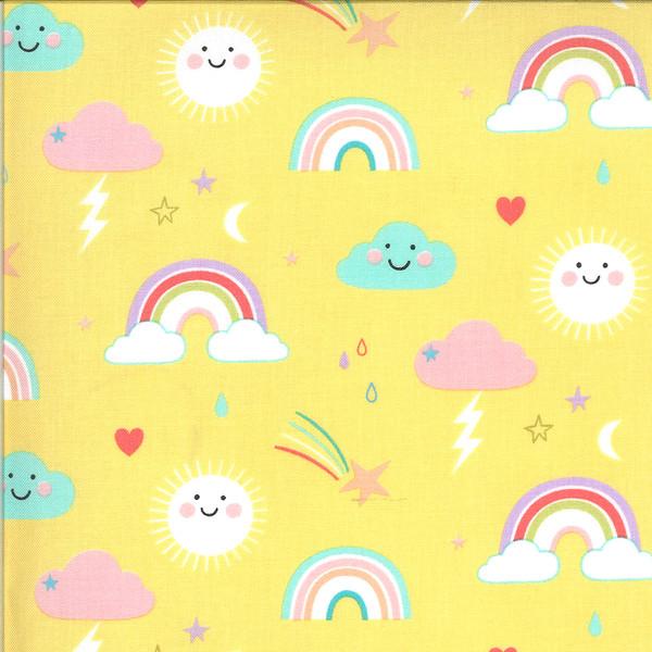 Hello Sunshine Yellow Rainbows