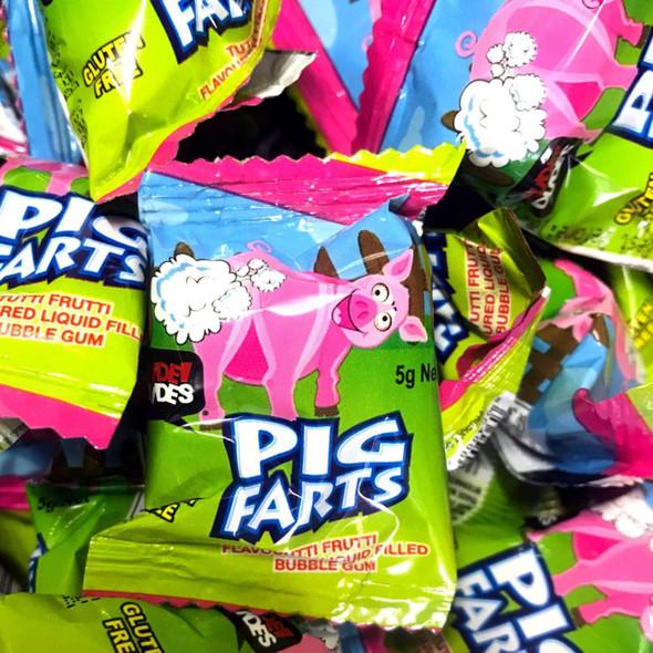 pig farts loose