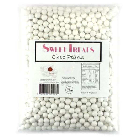 choc pearls white 1kg